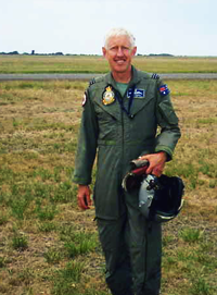 Peter Clements - Mustang Joy Flights pilot